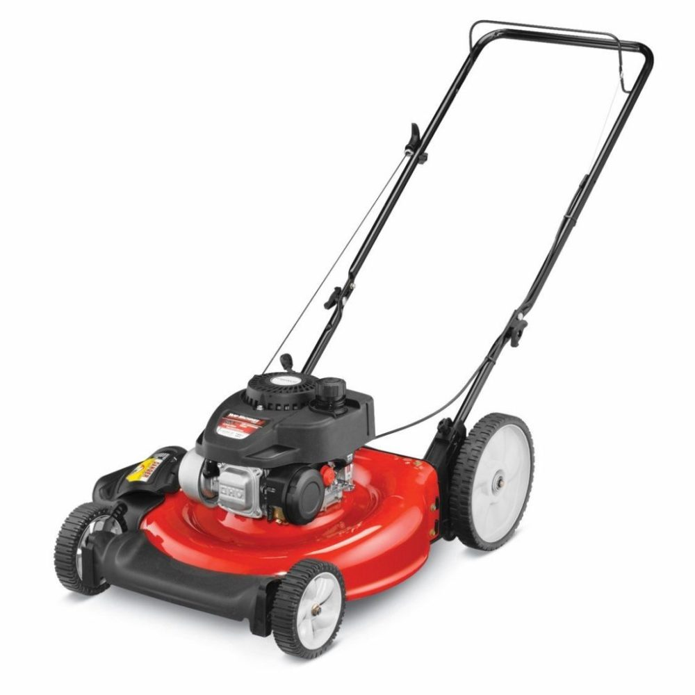 medium resolution of 2 yard machines 140cc 21 inch push mower review