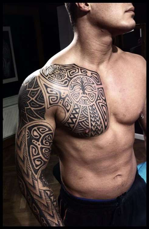 Norse Tribal Tattoo : norse, tribal, tattoo, Beautiful, Norse, Tribal, Tattoos