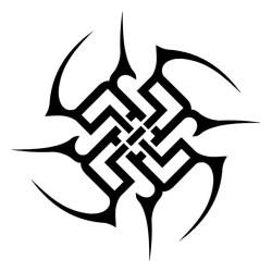 tribal tattoo tattoos designs simple stencil ninja star circle dragon stunning clipart symbols stencils cool symbol circular shoulder tattooideas easy