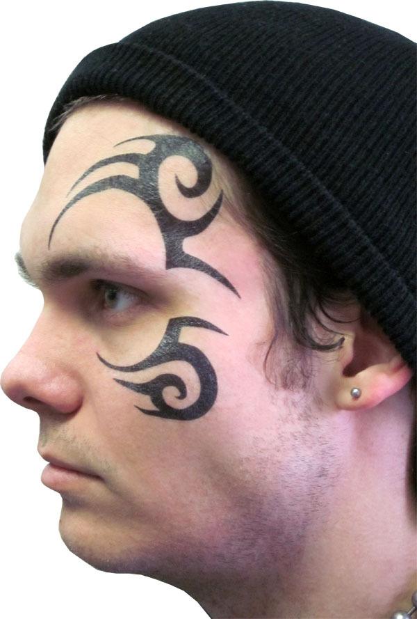 Tribal Face Tatto : tribal, tatto, Awesome, Tribal, Tattoos