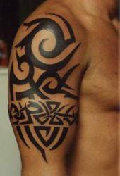tribal tattoos arm awesome