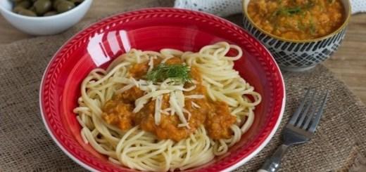 Чечевичная подлива к спагетти