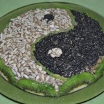 Сыроедческий торт «Инь Ян»
