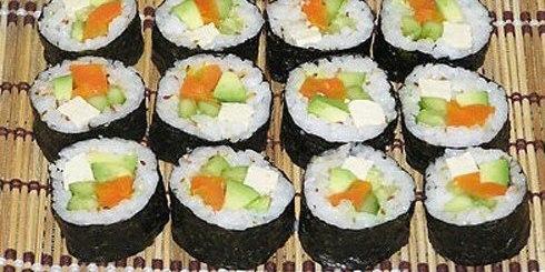 Вегетарианские роллы (Маки-суши)