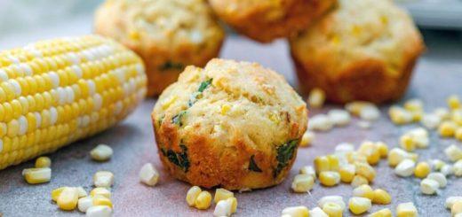 Маффины с кукурузой