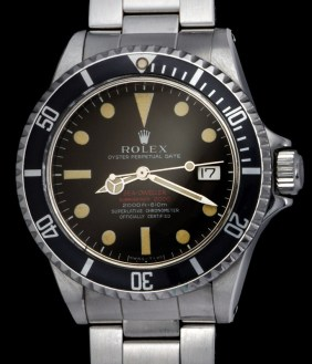 """Rolex """"The Patent Pending chocolate Brown Sea-Dweller"""""""