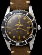 Rolex The Submariner 6204 retailed by Serpico y Laino 4
