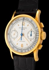"""Patek Philippe """"The yellow gold ref. 533 retailed by Hausmann"""" 2"""