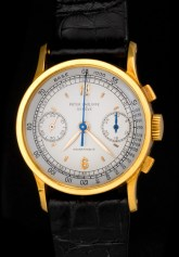 """Patek Philippe """"The yellow gold ref. 533 retailed by Hausmann"""" 3"""