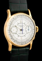 """Patek Philippe """"The yellow gold ref. 130 retailed by Walser Wald"""" 4"""
