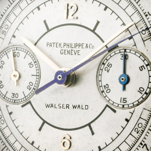 """Patek Philippe """"The yellow gold ref. 130 retailed by Walser Wald"""" 5"""