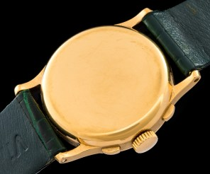 """Patek Philippe """"The yellow gold ref. 130 retailed by Walser Wald"""" 6"""