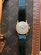 """Patek Philippe """"The yellow gold ref. 130 retailed by Walser Wald"""" nat 2"""