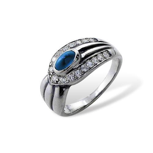 Serpenta Ring Sterling Silver Onlyway Jewelry London