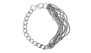 Festival Chunky Multi Chained combined bracelet