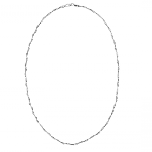 marta silver chain necklace onlyway jewelry