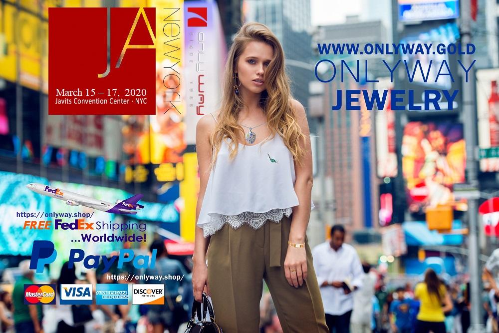 Ювелирное шоу в Нью-Йорке  OnlyWay gold Jewellry New York