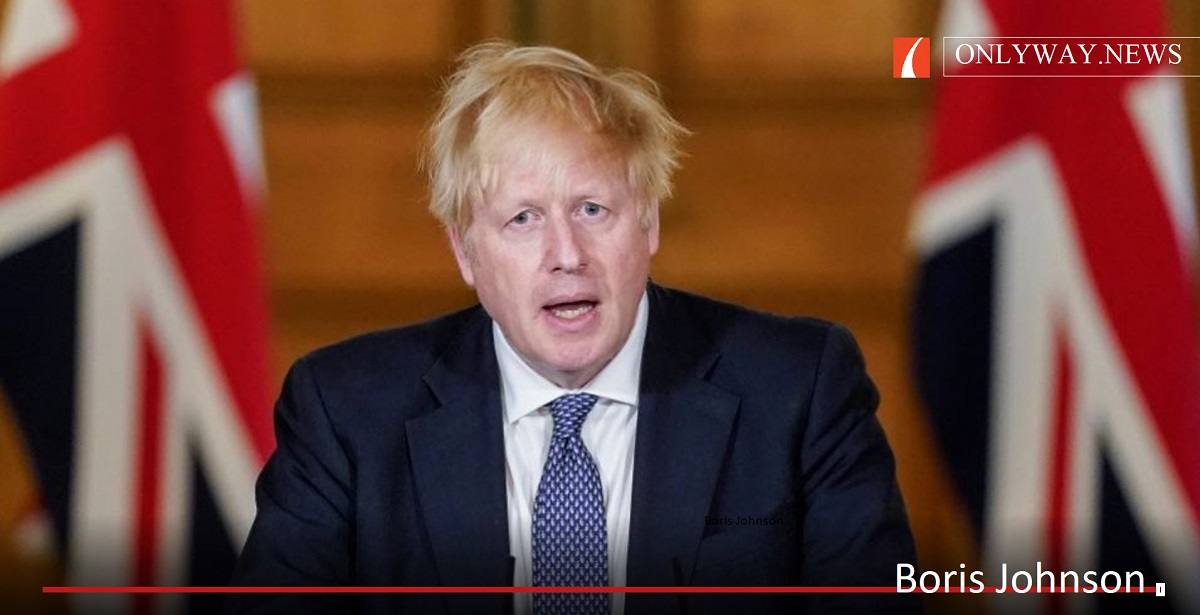 Boris Johnson confirmed 'for the first time' that the country is now 'past the peak and we are on the downward slope.'