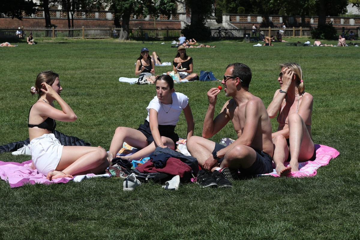 The latest from around the country as Britain is expected to see temperatures nearing 30C.