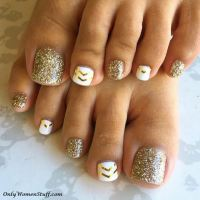 30+ Cute Toe Nail Designs Ideas - Easy Toenail Art