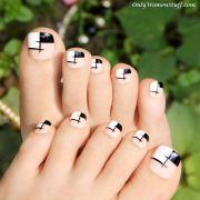 cute toe nail design ideas