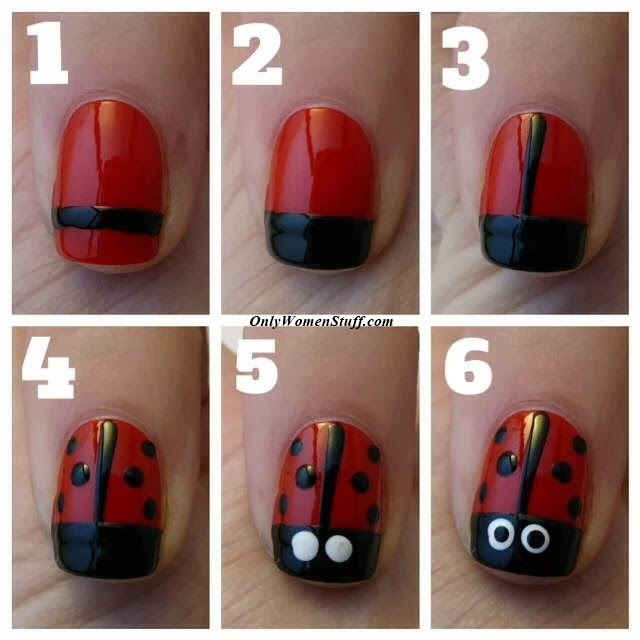 Cute Nail Designs Easy Do Yourself Black