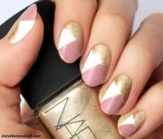 easy and simple nail art design