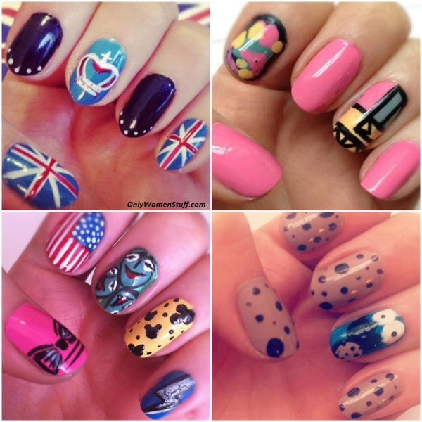 Easy And Simple Nail Art Design Beginners Home