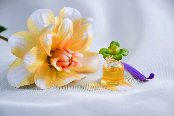 flower with essential oil