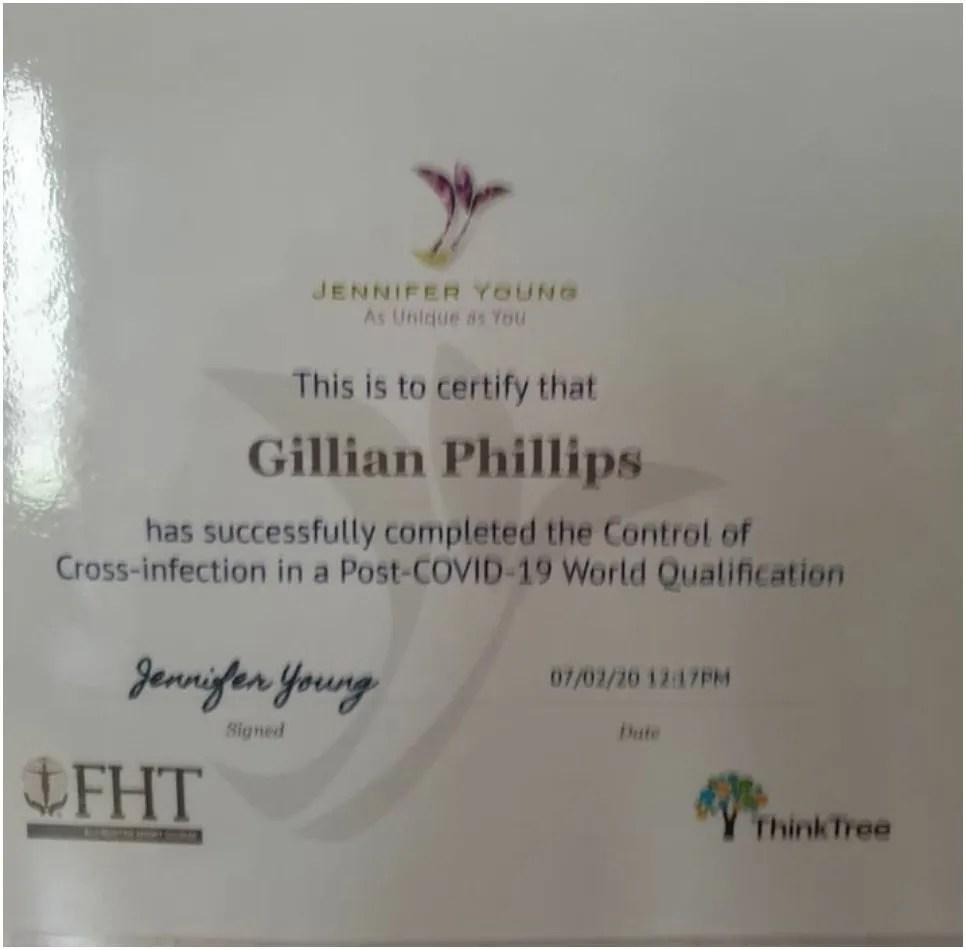 post covid-19 certificate