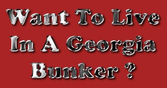 Want To Live In A Georgia Area Bunker