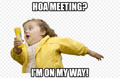 hoa meeting
