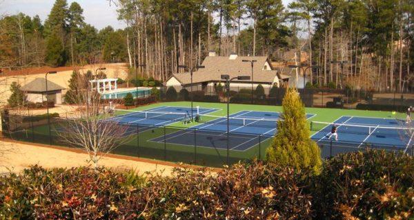 Triple Crown Tennis Courts North Fulton Georgia