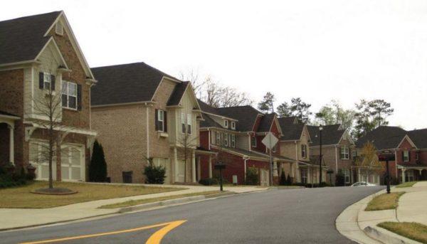 Centex Homes Built Mabry Park Subdivision Johns Creek GA
