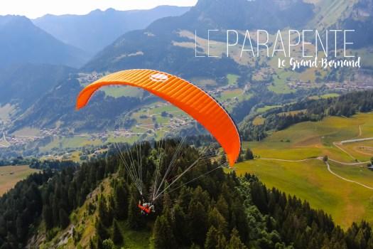Activités à faire en montagne : le parapente