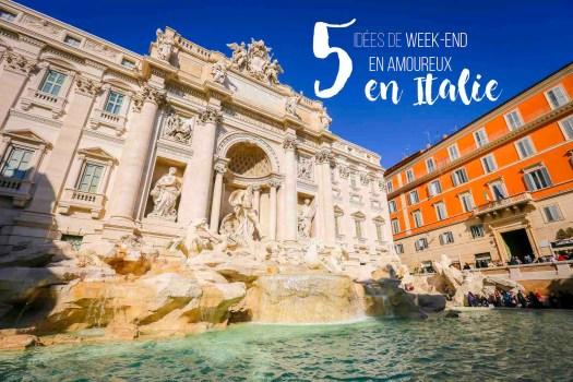 week-end en amoureux en Italie