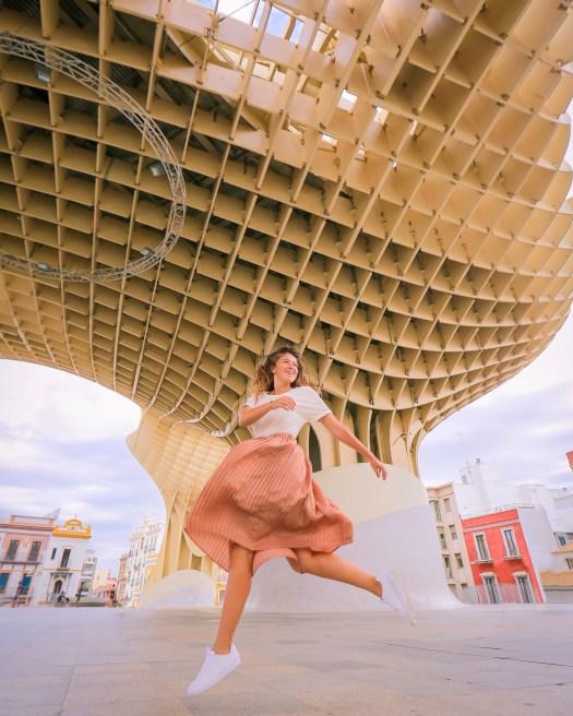 tourisme séville metropol parasol blog