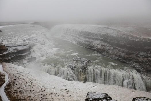 road-trip en Islande cascade Gullfoss cercle d'or