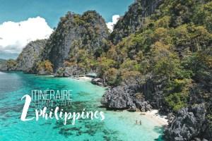 itinéraire 2 semaines philippines