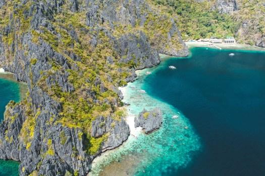 drone à el nido palawan blog
