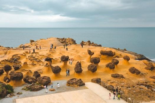 Yehliu Geopark Taïwan blog