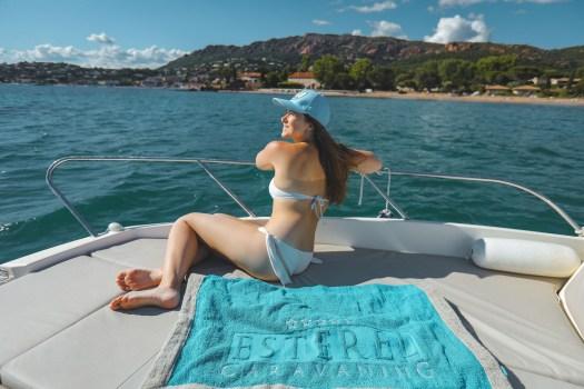 sortie bateau esterel