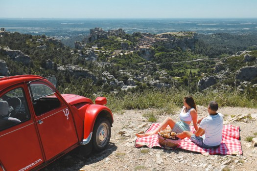 Road trip les baux de provence blog