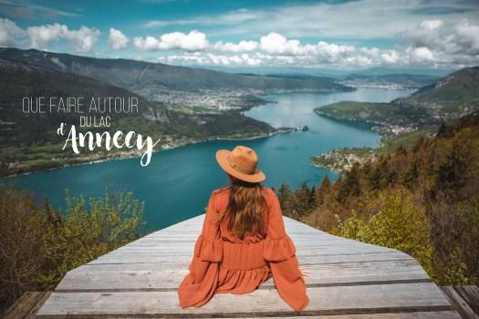 que faire à Annecy et autour du lac d'Annecy