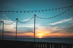 coucher de soleil cabourg