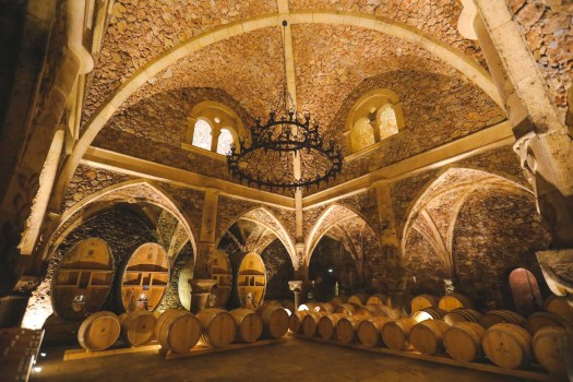 Château Font du Broc cave
