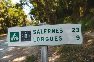Eurovélo 8 Var voie verte en Dracénie