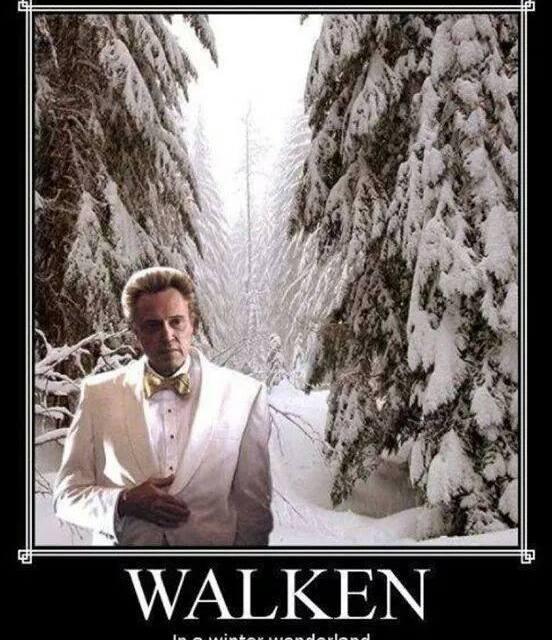 Just Walken…