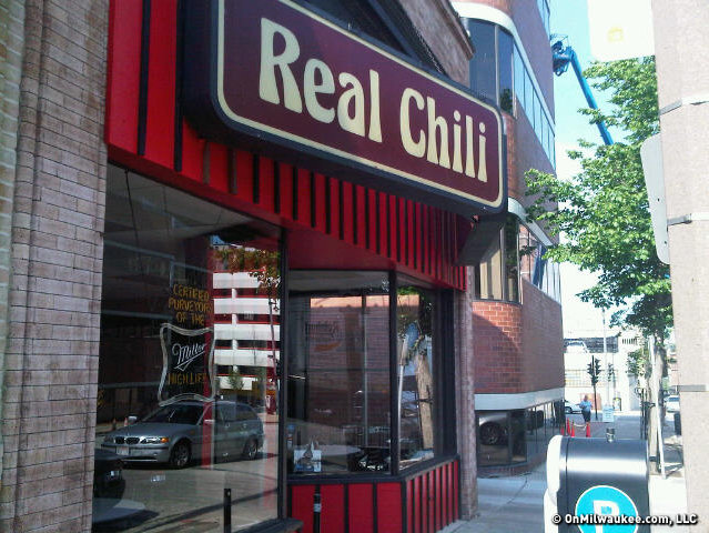 Real Chili (photo stolen from OnMilwaukee.com)