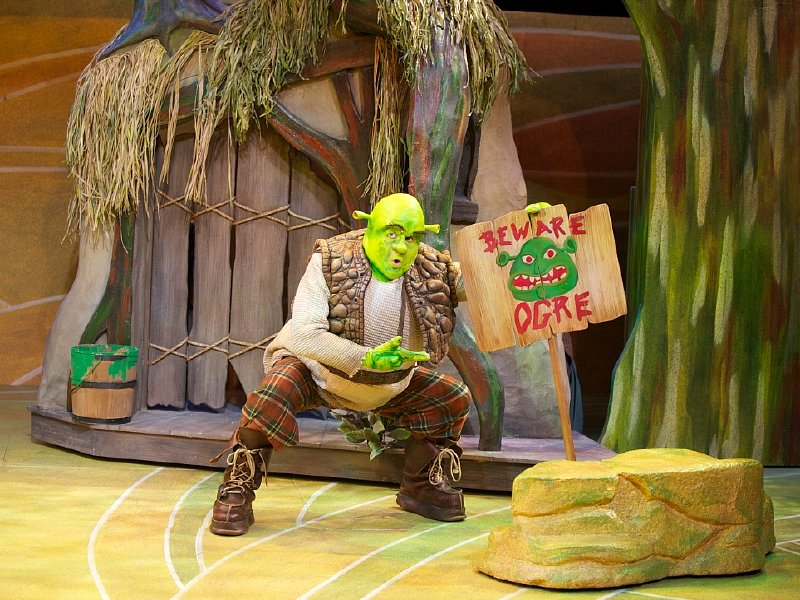 No need to feel green Shrek the Musical is fun for everyone